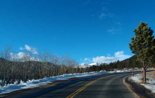 Rocky Mountain Road by Cathy Ulrich