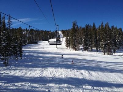January - Skiing