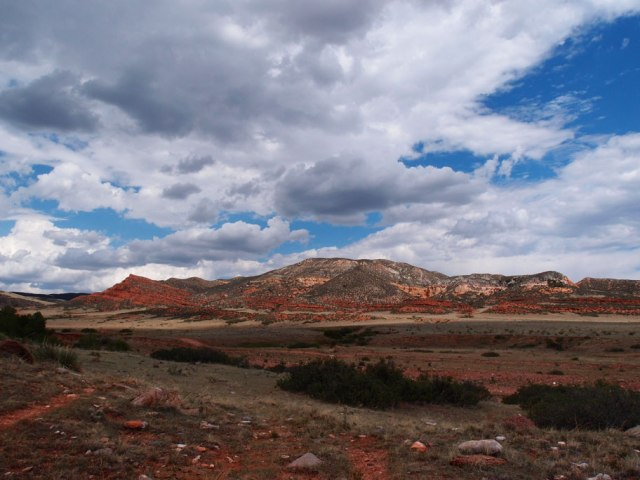 Red Mountain Skies by Cathy Ulrich