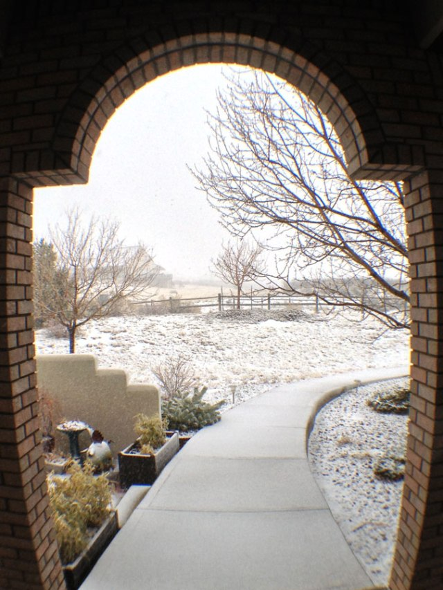 Doorway to My Neighborhood
