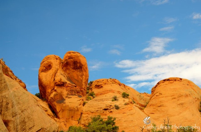 Heart Face Rock, Moab, Utah