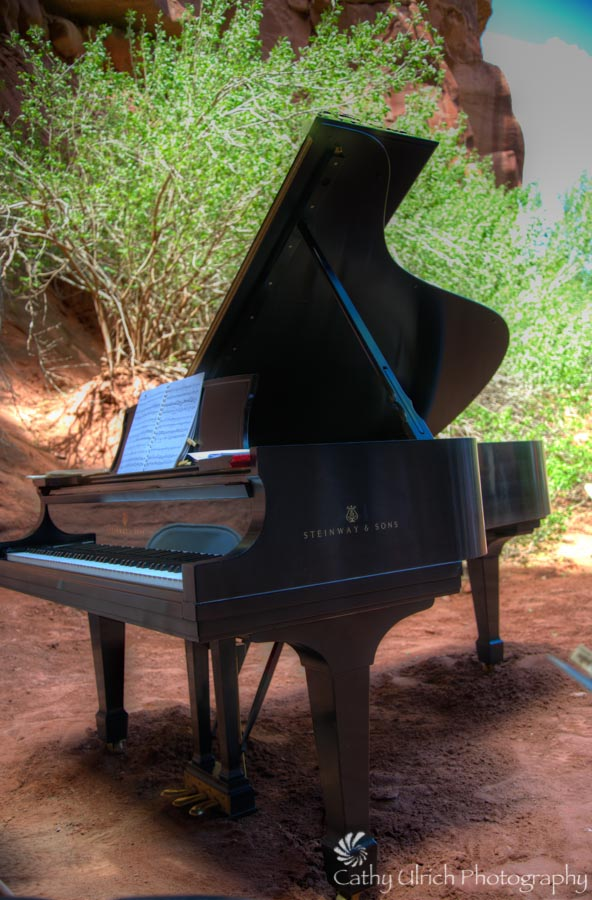 Steinway in the Grotto