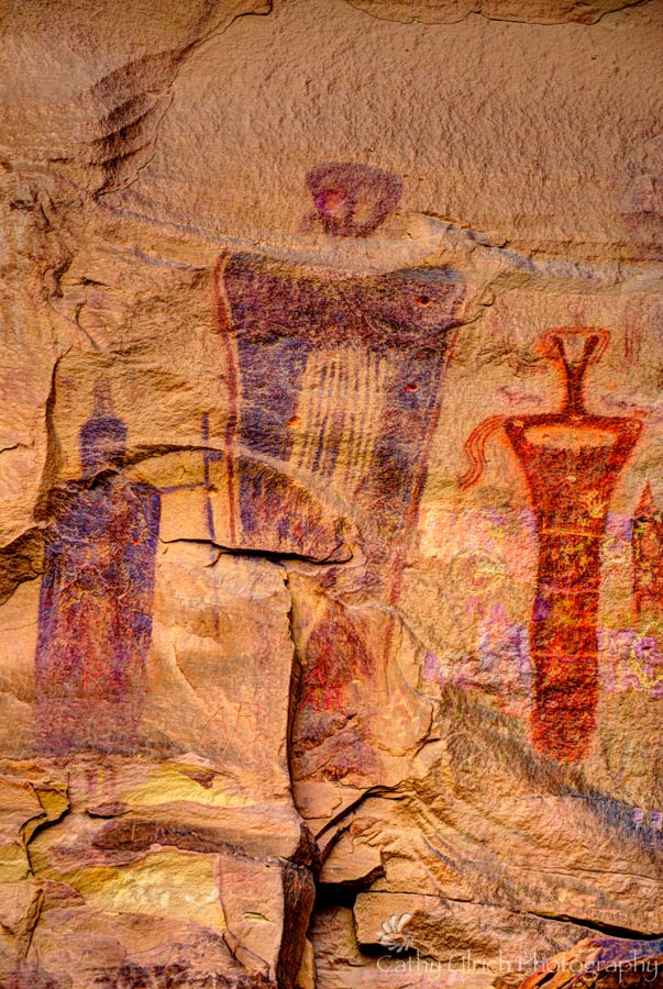 Sego Canyon Rock Art, near Moab, Utah