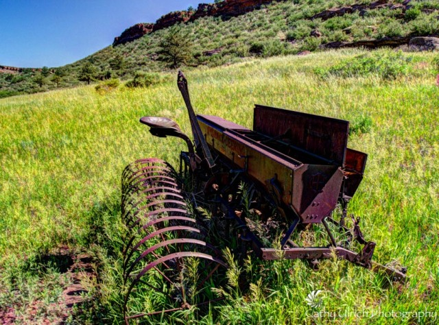 Rusting in the Foothills