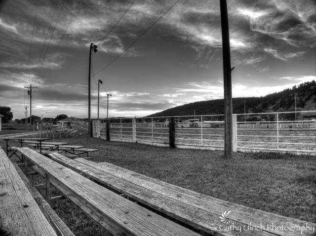 Sundance, Wyoming Rodeo Arena